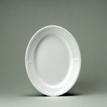"""Churchill Buckingham White Oval Plate 25.4cm/10"""""""