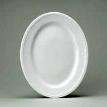 """Churchill Buckingham White Oval Plate 30.5cm12"""""""