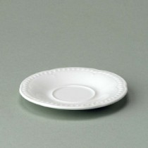 Churchill Buckingham White Small Saucer 13.4cm/5.25""