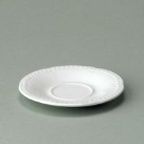 "Churchill Buckingham White Small Saucer 13.4cm/5.25"""