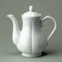 Churchill Buckingham White Coffee Pot 2 pint