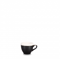 Churchill Monochrome Espresso Cup Onyx Black 10cl-3.5oz
