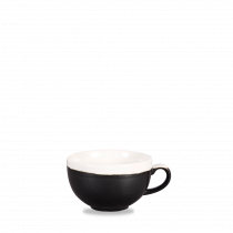 Churchill Monochrome Cappuccino Cup Onyx Black 34cl-12oz