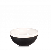 Churchill Monochrome Soup Bowl Onyx Black 47cl-16oz