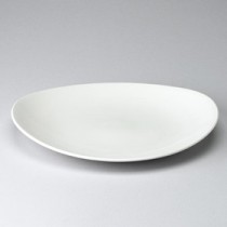 "Churchill Orbit Oval Coupe Plate 27x23cm/10.5x9"""