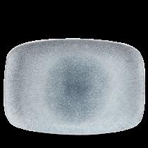 """Churchill Studio Prints Raku Chef's Platter No.9 Topaz Blue 35.5x24.5cm-14x9.6"""""""