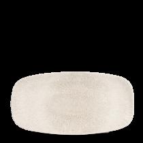 "Churchill Studio Prints Raku Chef's Plate No.3 Agate Grey 29.8x15.3cm-11.75x6"""