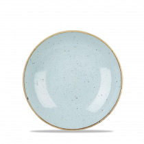 Churchill Stonecast Coupe Plate Duck Egg Blue 21.7cm-8.5""