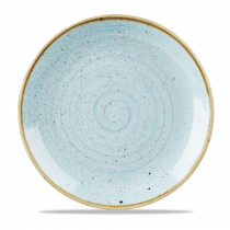 Churchill Stonecast Coupe Plate Duck Egg Blue 28.8cm-11.3""