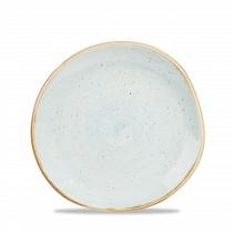 Churchill Stonecast Organic Round Plate Duck Egg Blue 18.6cm-7.3""