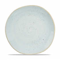 Churchill Stonecast Organic Round Plate Duck Egg Blue 26.4cm-10.4""