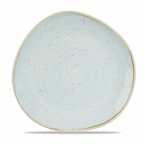 Churchill Stonecast Organic Round Plate Duck Egg Blue 28.6cm-11.25""