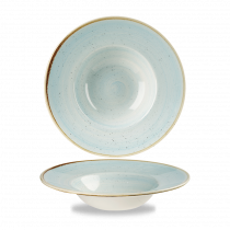 Churchill Stonecast Wide Rim Bowl Duck Egg Blue 28.4cl-10oz