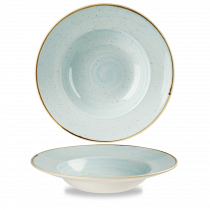 Churchill Stonecast Wide Rim Bowl Duck Egg Blue 46.8cl-16.5oz