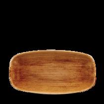 "Churchill Stonecast Patina Chef's Plate No.3 Vintage Copper 29.8x15.3cm-11.75x6"""