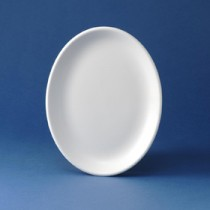 "Churchill Oval Plate 28cm/11"""