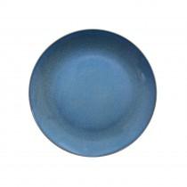 "Sango Java Coupe Plate Horizon Blue 20cm-7.8"""