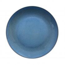 "Sango Java Coupe Plate Horizon Blue 33cm-13"""
