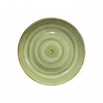 Sango Java Coupe Plate Meadow Green 27cm-10.6""