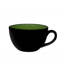 Sango Kyoto Cappuccino Cup Green 24cl-8.5oz