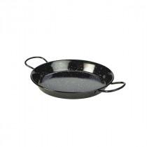 Berties Black Enamel Paella Pan 26cm