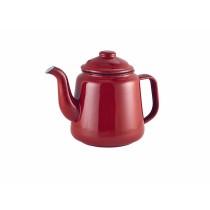 {Berties Red Enamel Teapot 1.5L/52.75oz}