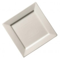 Genware Fine China Square Plate 18cm/7""