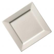 """Genware Fine China Square Plate 18cm/7"""""""