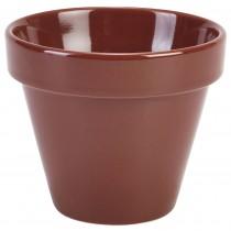 {Genware Terracotta Plant Pot 11.5x9.5cm}