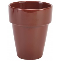 {Genware Terracotta Plant Pot 10.5x12.5cm}