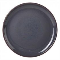 "Terra Stoneware Blue Coupe Plate 19cm/7.5"""