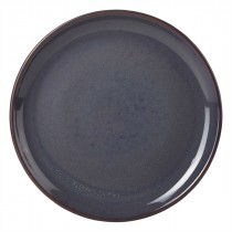 "Terra Stoneware Coupe Plate Blue 24cm-9.5"""