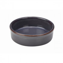 "Terra Stoneware Tapas Dish Blue 14.5cm-5.7"""
