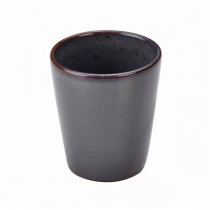 Terra Stoneware Conical Cup Blue 10cm-4""