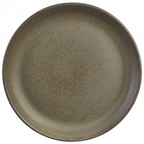 "Terra Stoneware Antigo Coupe Plate 24cm/9.25"""