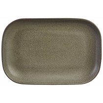 Terra Stoneware Rectangular Plate Antigo 29x19.5cm