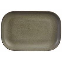 Terra Stoneware Rectangular Plate Antigo 24x16.5cm