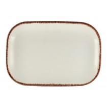 Terra Stoneware Rectangular Plate Sereno Brown 29x19.5cm