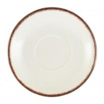 Terra Stoneware Saucer Sereno Brown 15cm