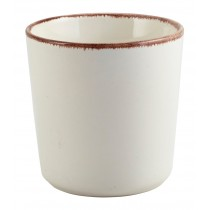 Terra Stoneware Chip Cup Sereno Brown 30cl-10.5oz