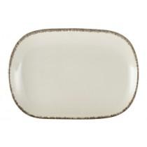 Terra Stoneware Rectangular Plate Sereno Grey 24x16.5cm