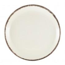 """Terra Stoneware Coupe Plate Sereno Grey 19cm-7.5"""""""