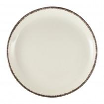 """Terra Stoneware Coupe Plate Sereno Grey 24cm-9.25"""""""