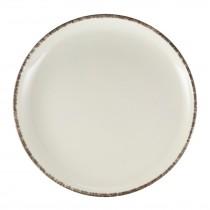 """Terra Stoneware Coupe Plate Sereno Grey 27.5cm-10.75"""""""