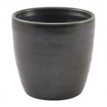 Terra Porcelain Chip Cup Black 32cl-11.25oz