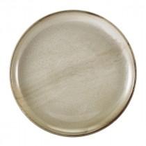 "Terra Porcelain Coupe Plate Grey 27.5cm-10.8"""