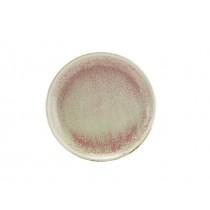 "Terra Porcelain Coupe Plate Rose 24cm-9.25"""