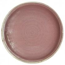 "Terra Porcelain Presentation Plate Rose 26cm-10.25"""