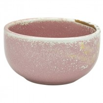 "Terra Porcelain Round Bowl Rose 11.5cm-4.5"""