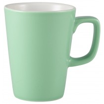 {Genware Latte Mug Green 34cl/12oz}